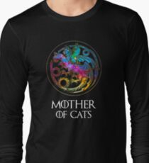 Camiseta de manga larga Logotipo de Aurora Mother Of Cats