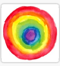 Energetic Abstractions - Painted Chakra Circle Sticker