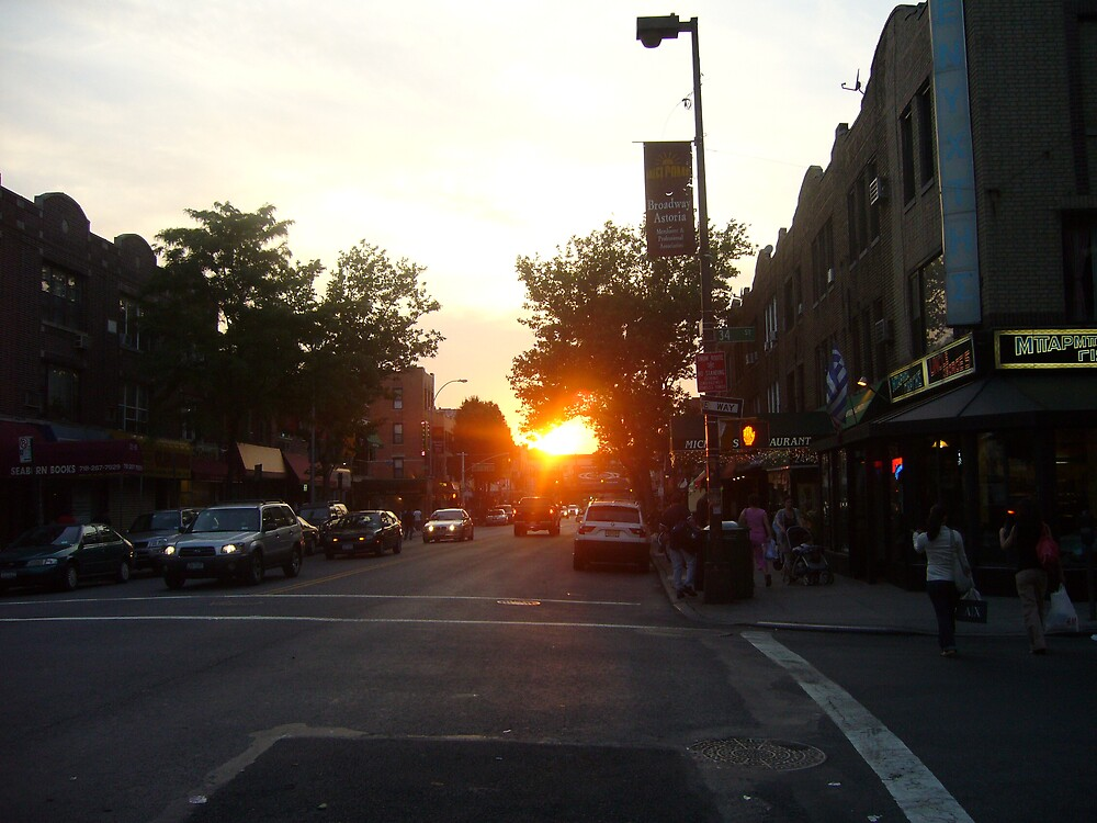 Sunset in Park Slope by Saundra487