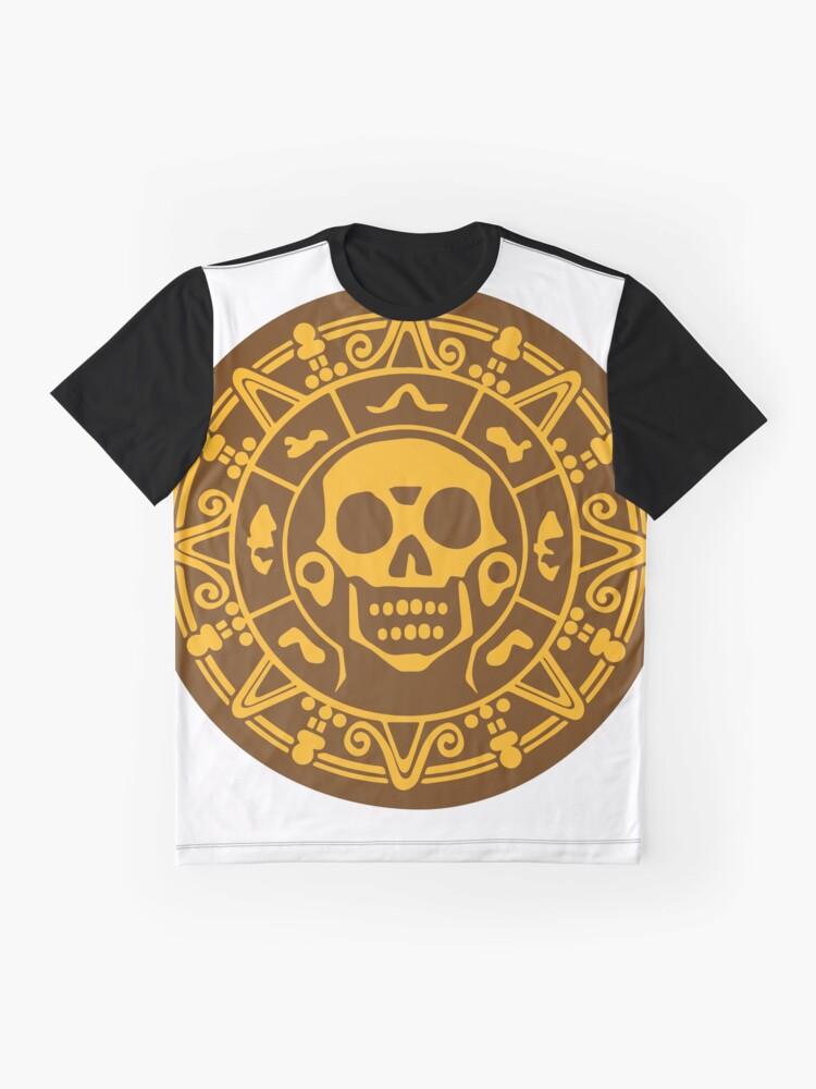 Alternative Ansicht von Medaillon Farbe Grafik T-Shirt