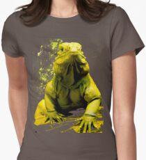 Iguana Womens Fitted T-Shirt