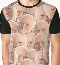 Hide Your Pain Harold Graphic T-Shirt