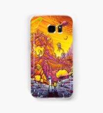 Rick And Morty - The World Samsung Galaxy Case/Skin