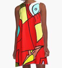 After Picasso Color 2 A-Line Dress
