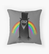 Babadook Pride Throw Pillow