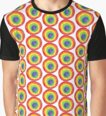 Energetic Abstractions - Painted Chakra Circle #4 Graphic T-Shirt