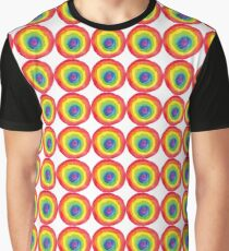 Energetic Abstractions - Painted Chakra Circle #3 Graphic T-Shirt