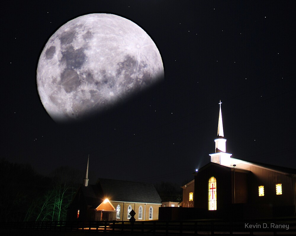 Moonlite Church by Kevin D. Raney