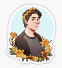 Floral Ray [Commission] Sticker