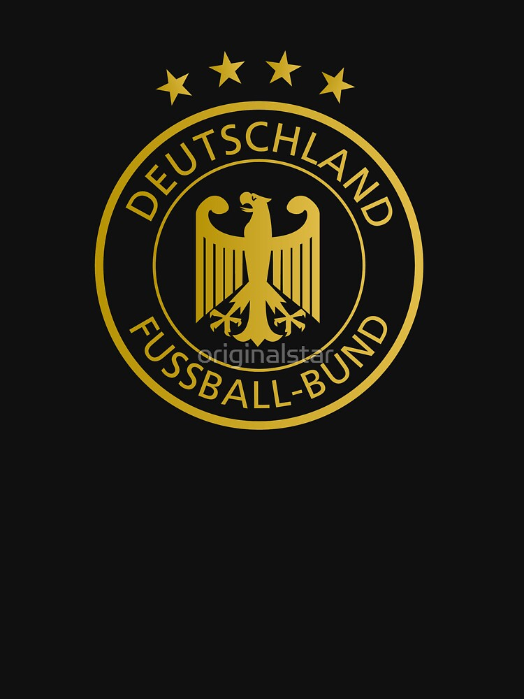 Soccer Football Germany Gold Symbol Emblem Official World Champion
