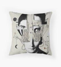 Reconstructing Kafka Throw Pillow