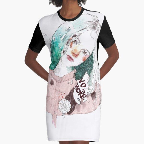NO MORE Graphic T-Shirt Dress