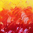 Energetic Abstractions - Chakra Colours #1/2 by Rosetta Elsner ARTist