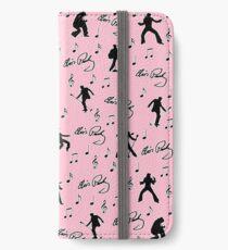 Elvis Presley  pink pattern iPhone Wallet