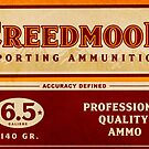 Creedmoor Sporting Ammunition | Vintage Poster by wyldefire