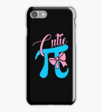 Cutie PI Math Shirt iPhone Case/Skin