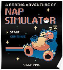Boring Game Poster