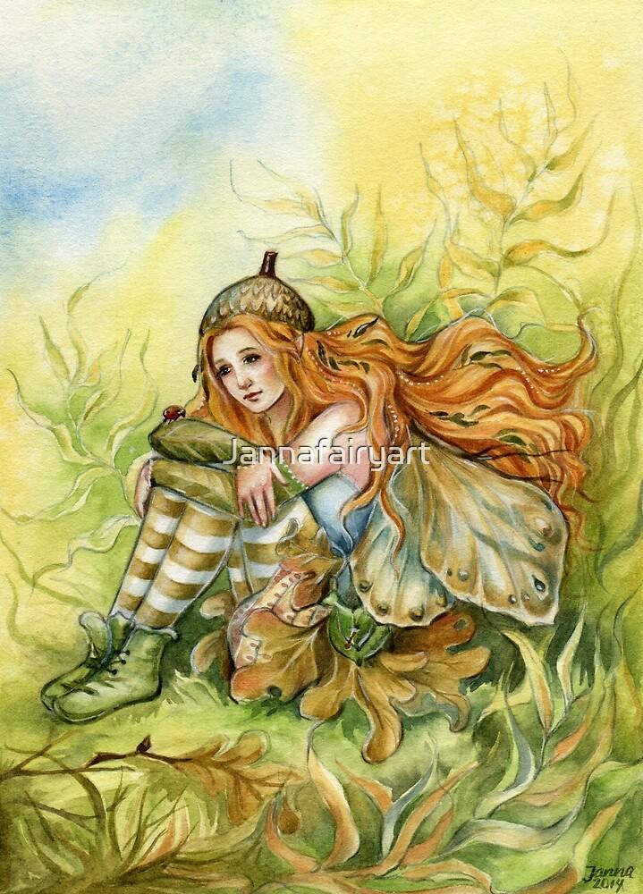 Oak Fairy by Jannafairyart