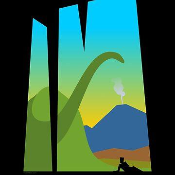 The Dinosaur by tudi