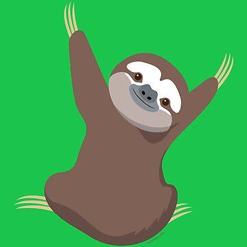Baby Sloth by tudi