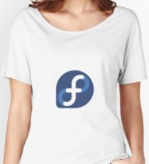 Fedora Linux Women's Relaxed Fit T-Shirt