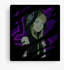 Anime Inspired Shirt Canvas Print
