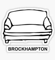 BROCKHAMPTON Couch Logo Sticker