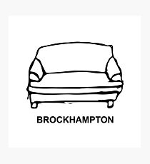 BROCKHAMPTON Couch Logo Photographic Print