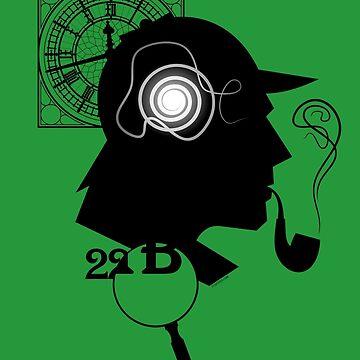 Sherlock Holmes by tudi