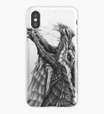 Winged Snow Hunter iPhone Case/Skin