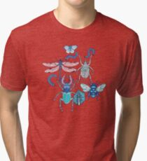happy frozen blue bugs Tri-blend T-Shirt