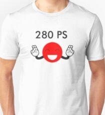 280 PS Japanese car Gentlemen's agreement T-Shirt