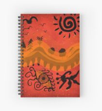 Autumn zen Spiral Notebook