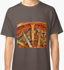 Steam Traction Engine Wheel Classic T-Shirt