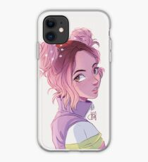 Cotton Candy Space Buns iPhone Case