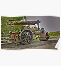 Lady Hamilton Road Roller Poster