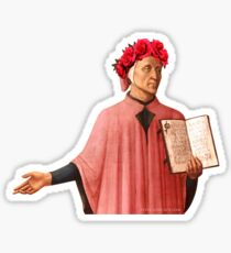 Flower Crown Dante Sticker
