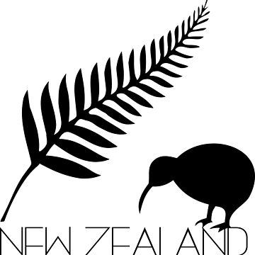 New Zealand Fern & Kiwi Icons by studiopico