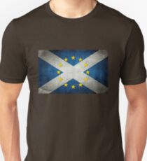 EU/Scotland Flag T-Shirt