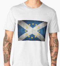EU/Scotland Flag Men's Premium T-Shirt