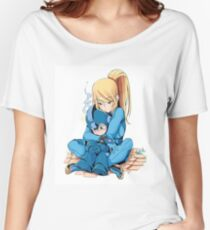 Megaman & Samus Women's Relaxed Fit T-Shirt