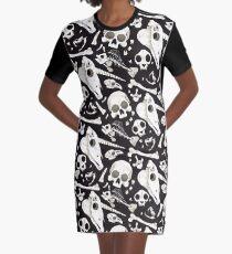 crânes et os noirs - Wunderkammer Robe t-shirt