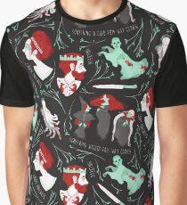 Shakespearean pattern - Macbeth Graphic T-Shirt