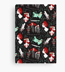 Shakespearean pattern - Macbeth Canvas Print
