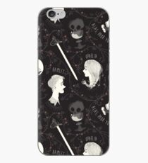Shakespearean pattern - Hamlet iPhone Case