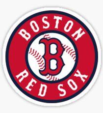 Boston Red Sox alternate logo red Sticker