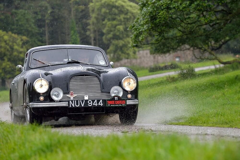 The Three Castles Welsh Trial - Aston Martin DB2 Vantage - Photo Max Earey by Three-Castles