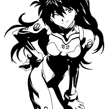 Neon Genesis Evangelion Asuka Langley by dalecoopersama