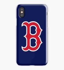 Boston Red Sox Logo Blue iPhone Case