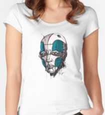Cyborg Women's Fitted Scoop T-Shirt